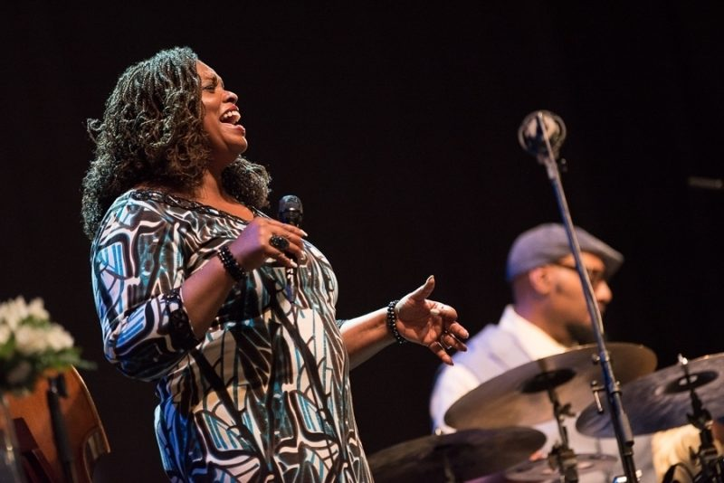 Dianne Reeves performs at the 2016 Rīgas Ritmi Festival