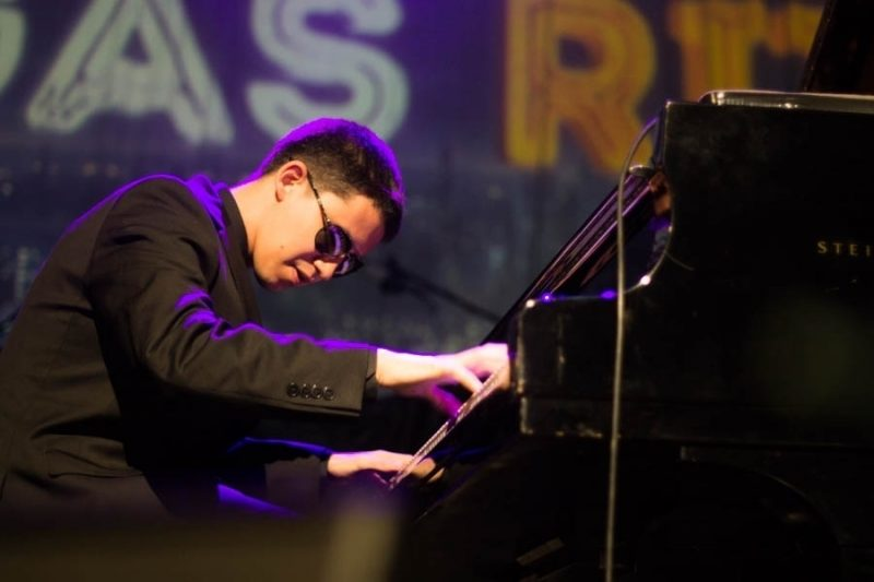 Justin Kauflin performs at the 2016 Rīgas Ritmi Festival