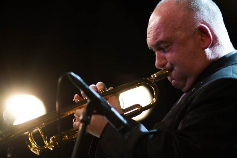 James Morrison performs with the Latvian Radio Big Band at the 2016 Rīgas Ritmi Festival