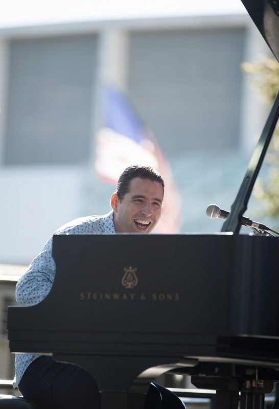 Alfredo Rodriguez performs at the 2016 Detroit Jazz Festival