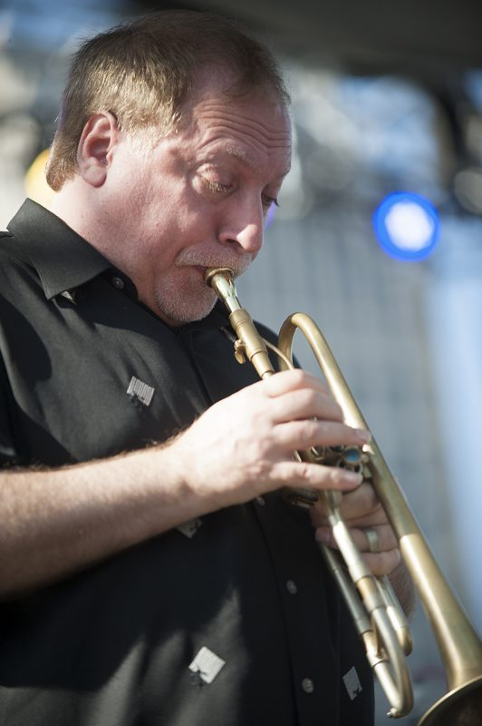 David Weiss performs at the 2016 Detroit Jazz Festival