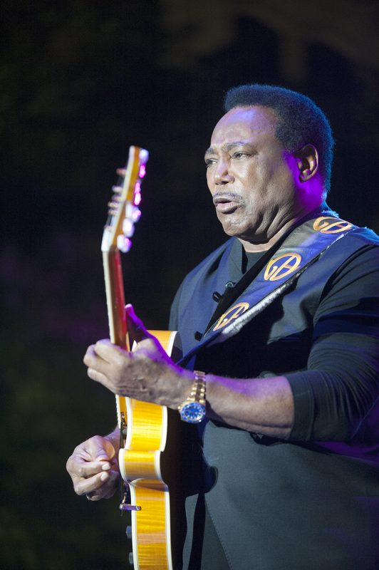 George Benson headlines opening night, Sept. 2, of the 2016 Detroit Jazz Festival