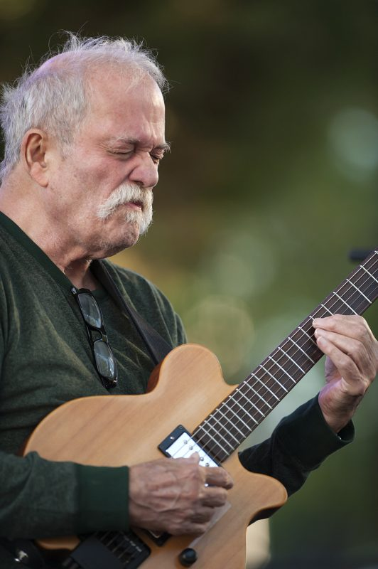 John Abercrombie performs at the 2016 Detroit Jazz Festival