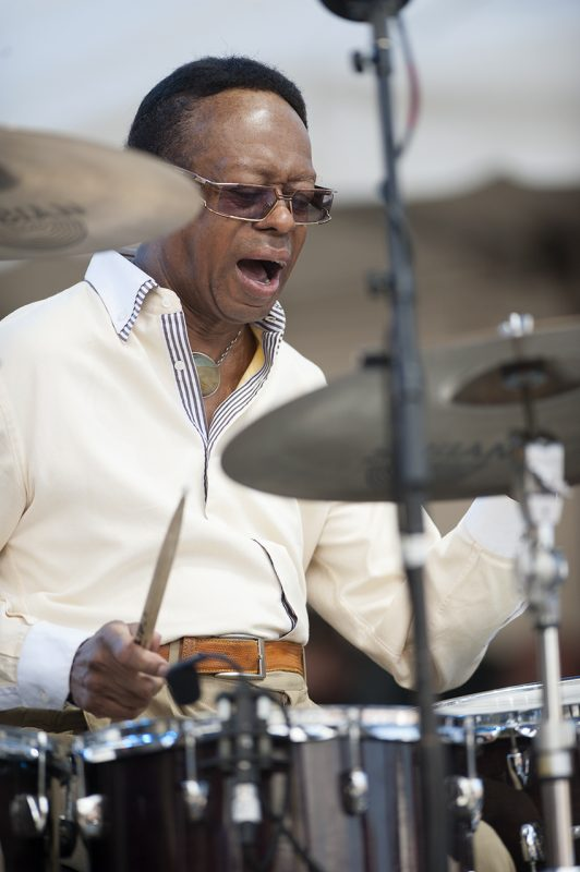 Louis Hayes performs at the 2016 Detroit Jazz Festival