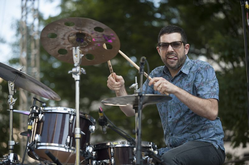 Mark Guiliana performs at the 2016 Detroit Jazz Festival