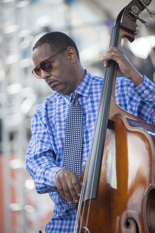 Robert Hurst performs at the 2016 Detroit Jazz Festival