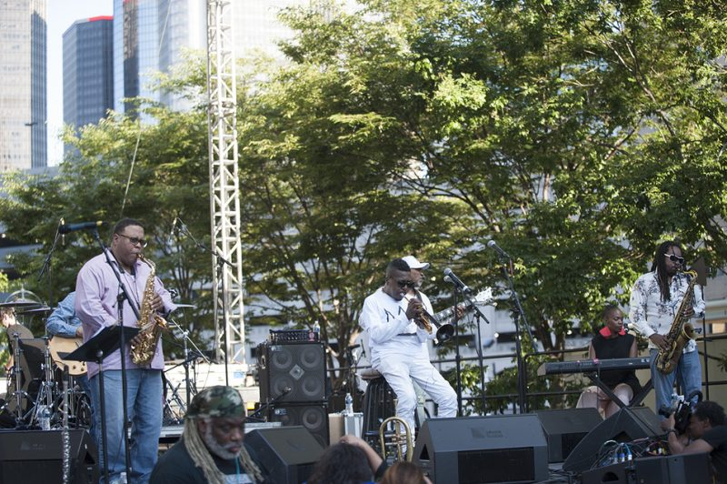 Roy Hargrove's RH Factor performs at the 2016 Detroit Jazz Festival