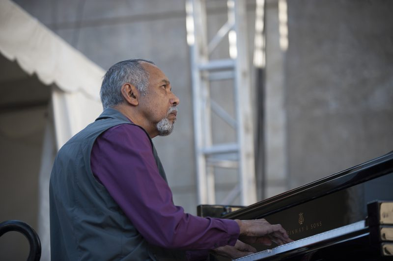 Stanley Cowell performs at the 2016 Detroit Jazz Festival