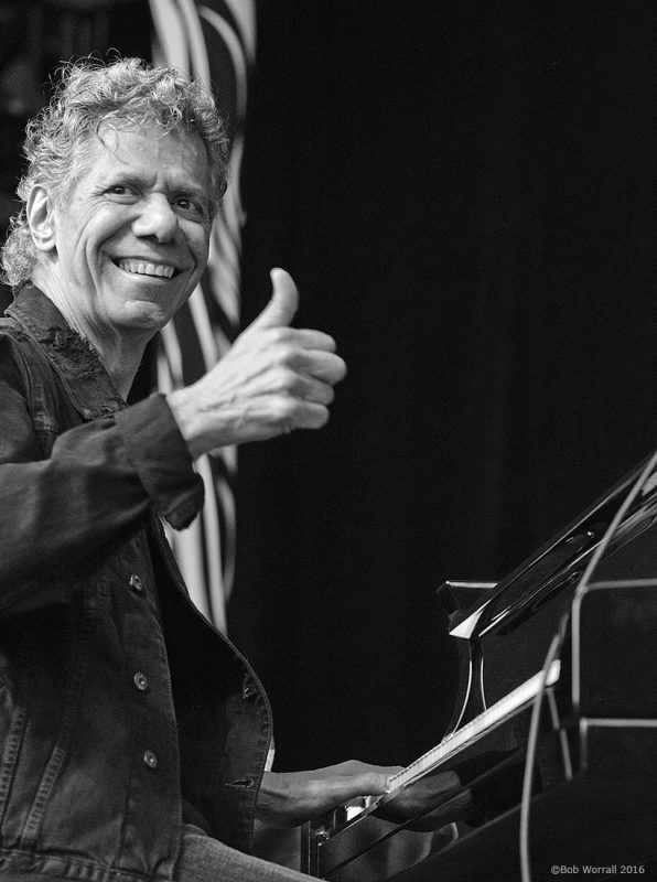 Chick Corea performs at the 2016 TD Ottawa Jazz Festival