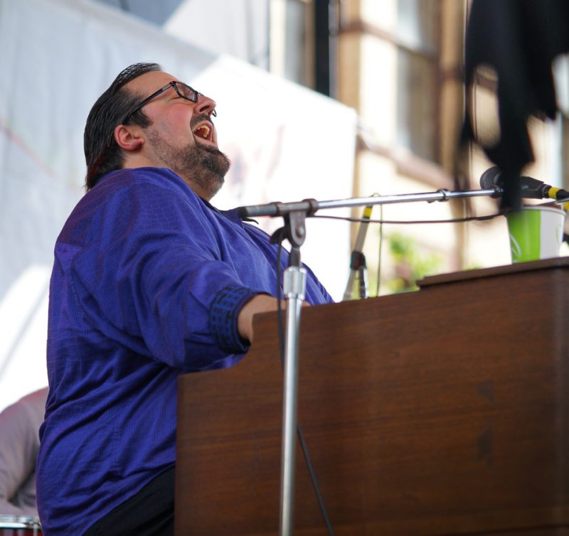 Joey DeFrancesco performs at the 2016 Springfield Jazz & Roots Festival