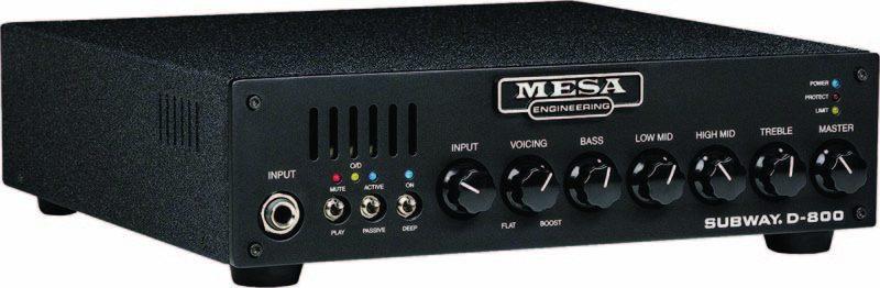 Mesa/Boogie Subway D-800 bass head