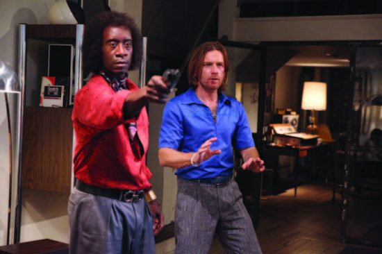 """If Miles was a gunslinger: Don Cheadle (left) and Ewan McGregor take liberties in """"Miles Ahead"""" image 0"""