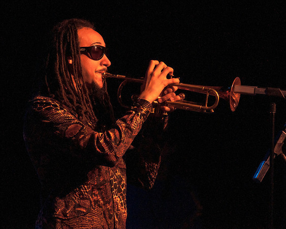 Theo Croker performing at the 2014 Exit O International Jazz Festival