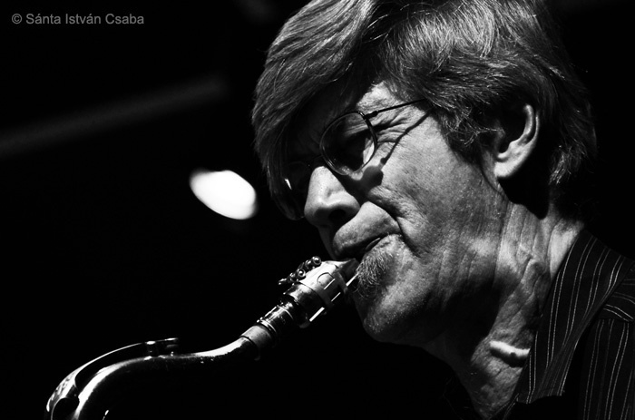 Bob Malach performing with the Mike Stern & Dave Weckl Band at the Blue Note Milano in Italy