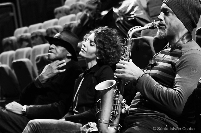 Craig Handy with the Cookers at the 2016 Moncalieri Jazz Festival in Italy