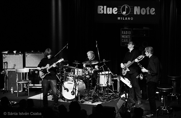 The Mike Stern & Dave Weckl Band performing at the Blue Note Milano in Italy