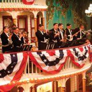 Musicians, including Vince Giordano, in scene from Boardwalk Empire image 0
