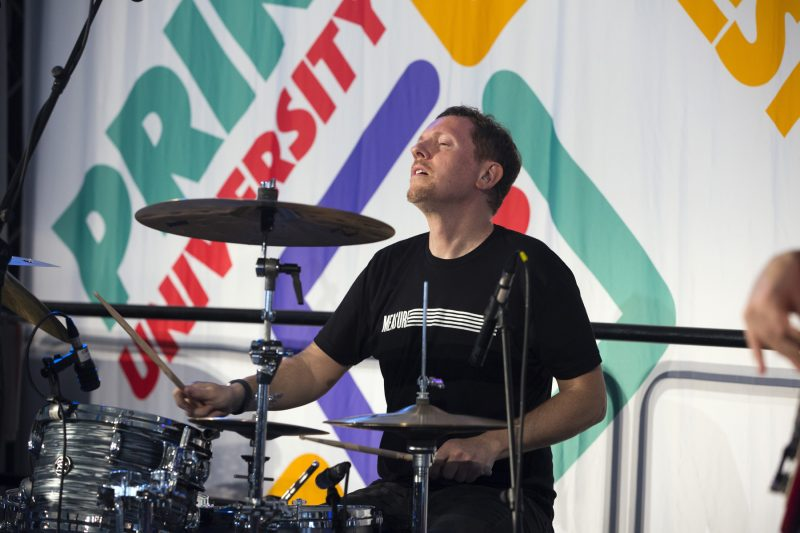 Zach Danziger at the Princeton University Jazz Festival